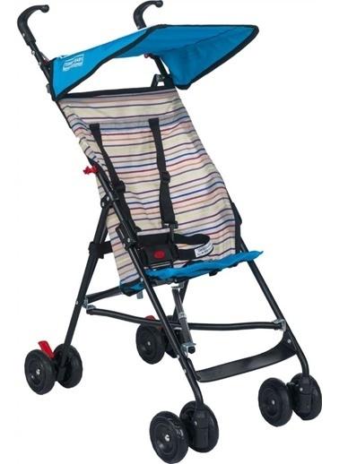 Tommy Baby Pratik Baston Puset Bebek Arabası Çocuk Arabası Mavi